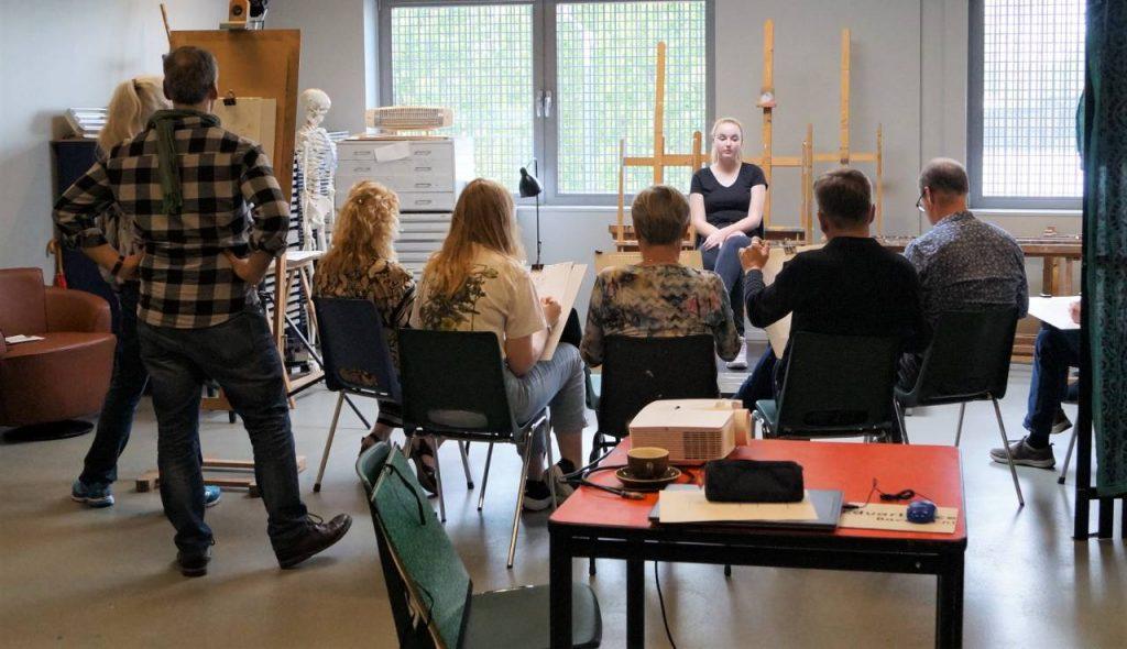 Workshop portrettekenen 'de kunst van het kijken'